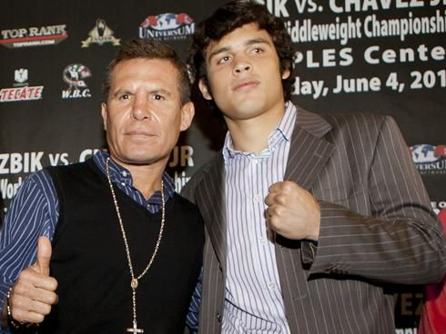 Tweet  JULIO CESAR CHAVEZ SR. BLASTS HIS SON ON THE RADIO & SUGGESTS HE RETIRES Mexico City, Mexico (March 1st, 2016)– Mexican boxing legend Julio Cesar Chavez stated harsh words for his son Julio Jr. on the ESPN Deportes radio show A Los Golpes Monday morning upon hearing that his son had broken camp …