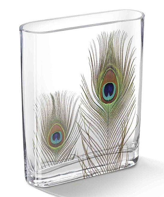 Modge Podge Peacock feathers