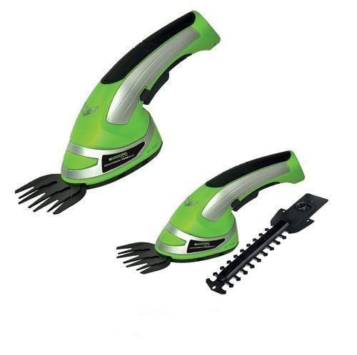 buy now   £29.99   Trims Hedges And Lawn Edges With Ease Now! The Ultimate Gardening Tools You Can Have With Cordless 2-in-1 Grass Cutter & Hedge Trimmer Hand Held Shape. Includes  ...Read More