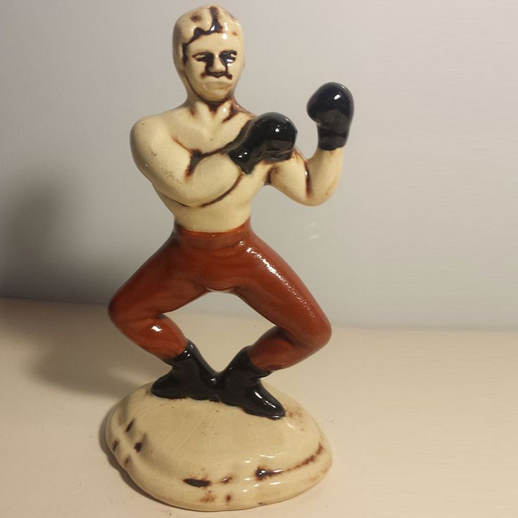 Original Vintage Collectable Dunhill Figurine Boxer In