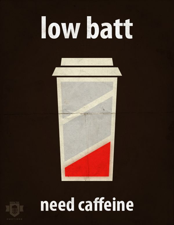 Low Batt on the Behance Network @Devin Liner