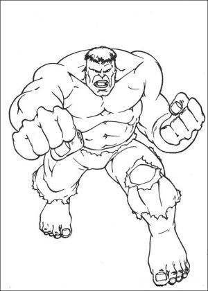 31 best Hulk coloring book images on Pinterest | Coloring books ...