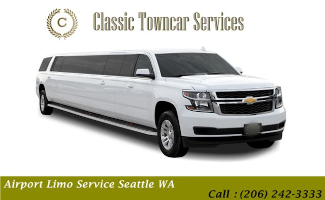 Get a Reliable Airport Limo Service Seattle WA and Enjoy a First Class Experience