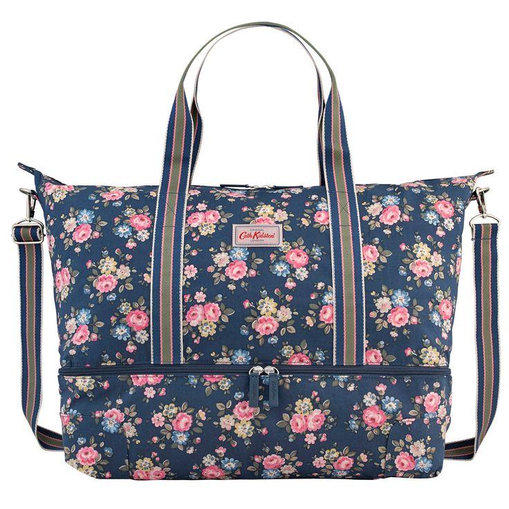 Latimer Rose Foldaway Double Decker Travel Bag   Cath Kidston  