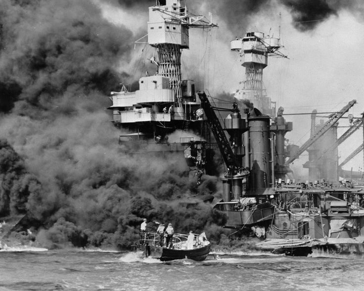 Dec. 7, 1941, as Japanese bombs rained down on Pearl Harbor ,http://hallicasser-jayne.com/