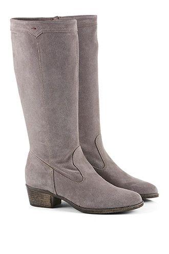 Esprit - Suède laarzen met hoge schacht kopen in de online shop