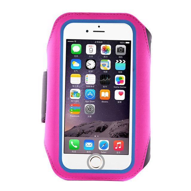 Waterproof and Fun -armband phone case for phone iphone 7 plus fingerprint wake unlocked , sports phone holder & running armband case for iphone 6