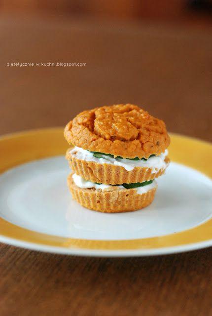 Moje Dietetyczne Fanaberie: Pomidorowo - bazyliowe muffiny z fasoli