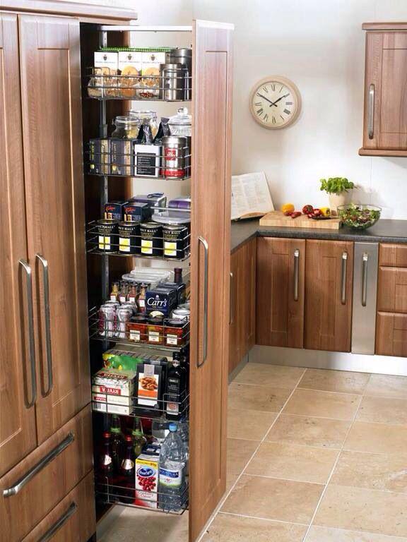 Выдвижной шкаф для продуктов