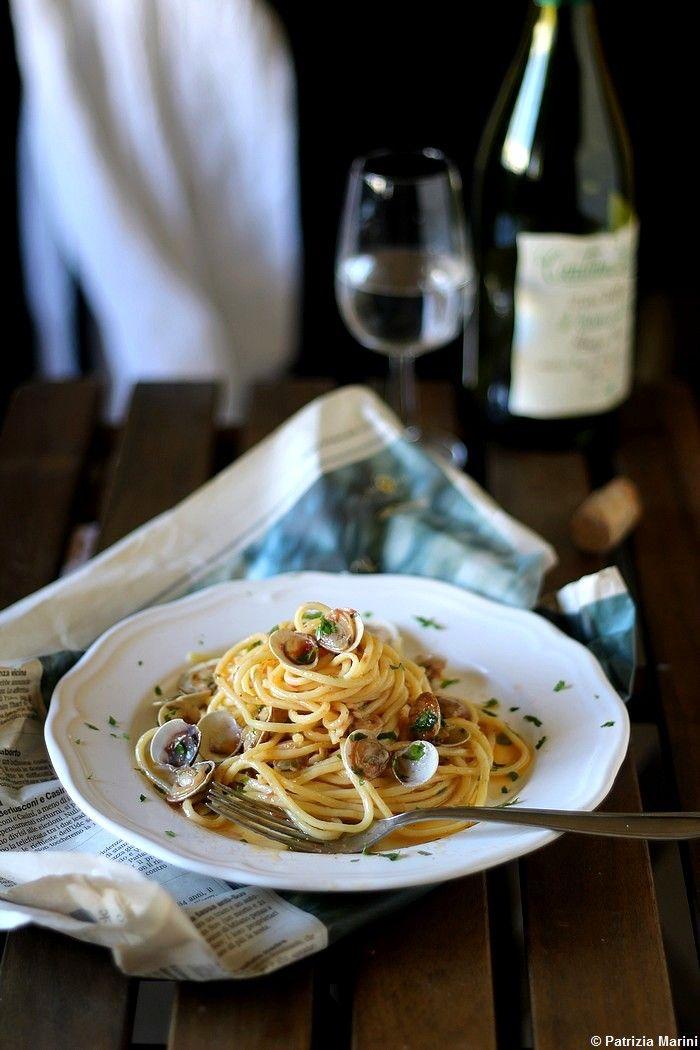qualcosa di buono: Gli spaghetti con i lupini di mare ed  una bella s...