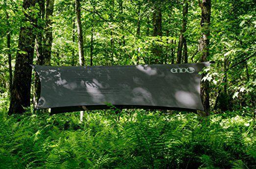 ENO Eagles Nest Outfitters - ProFly Rain Tarp, Ultralight Hammock Accessory, Grey: Amazon.ca: Sports & Outdoors