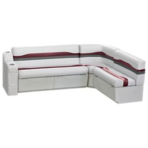 Wise Talon Pontoon Furniture Series 86'' Rear Wrap Around Set -