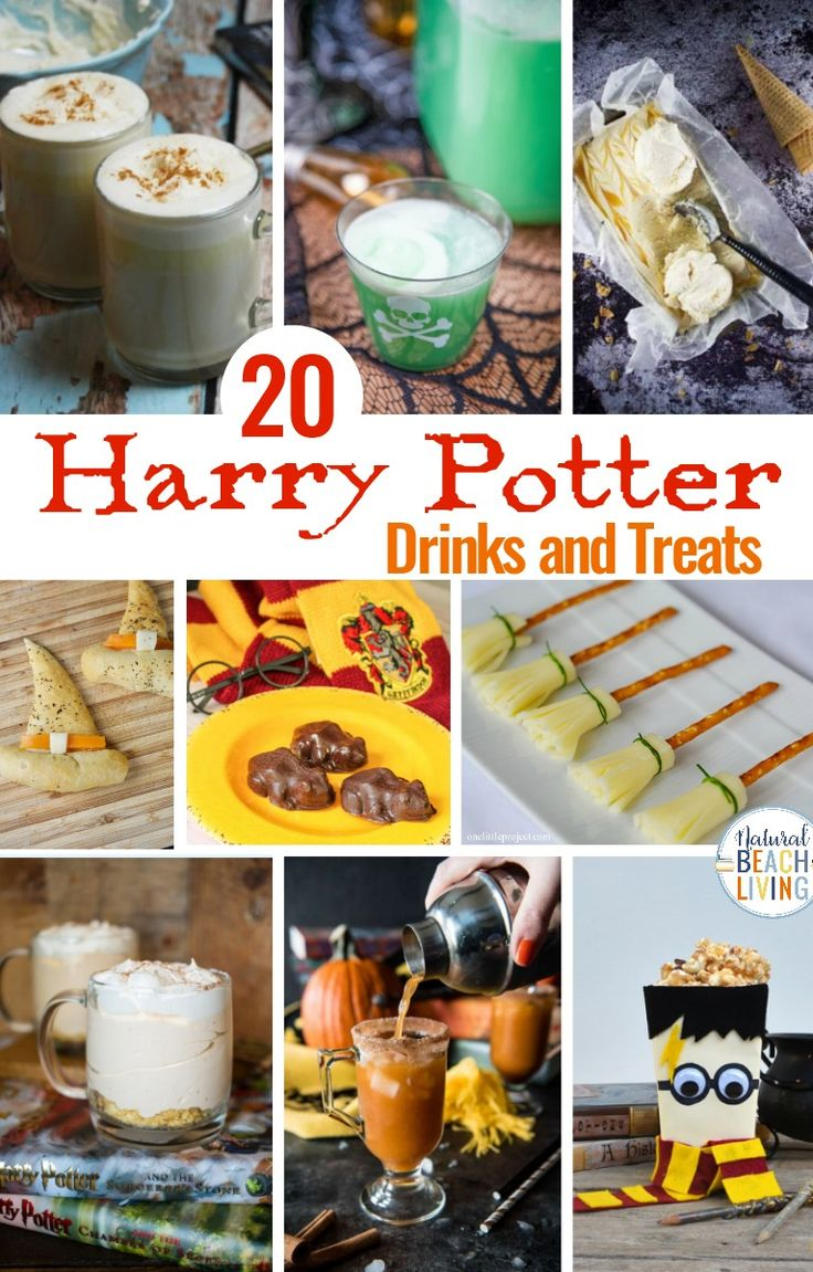 20+ Harry Potter Drinks and Treats You'll Love