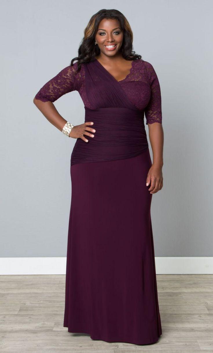 plus size dress kl 800