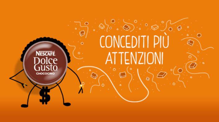 Chococino e le attenzioni (Pic by Nescafè Dolce Gusto)