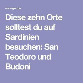 Die besten 25 san teodoro sardinien ideen auf pinterest for Offerte budoni agosto