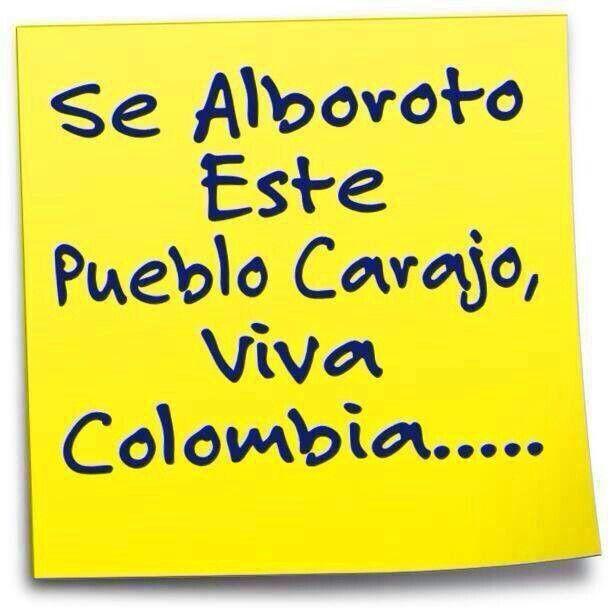 Colombia se viste de fiesta!!