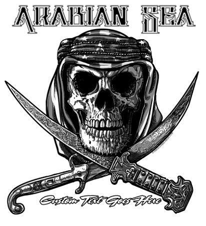 Us navy jolly roger arabian sea shirt us navy 5th for Oif tattoo designs