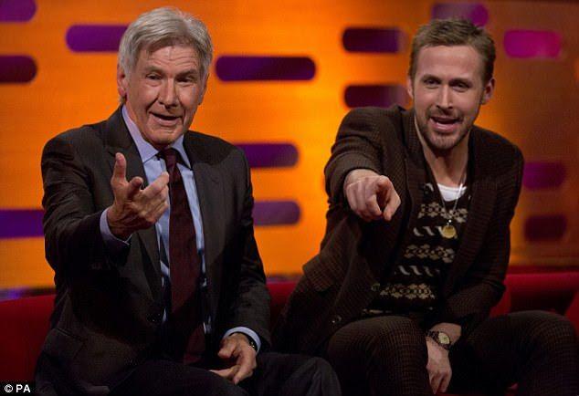 Harrison Ford already forgot the name of Blade Runner 2049 Co-Star, Ryan Gosling : えっと…お前の名前は確か、ライアン ?、ライアン・何だっけ ? ! と、「ブレードランナー 2049」で共演した無名の若造 ? ! の名前なんか、とっくに忘れてしまった大物のハリソン・フォード ! ! - ライアン・ゴズリングが生まれた1980年に、ハリソン・フォードは「レイダース」を撮影していましたから、そんな若造の駆け出しの役者の名前なんて…   CIA Movie News   Blade Runner, Ryan Gosling, Harrison Ford, Margot Robbie, Reese Witherspoon, celeb, LOL, Photo, Video, Graham Norton, The Graham Norton Show - 映画 エンタメ セレブ & テレビ の 情報 ニュース from CIA Movie News / CIA こちら映画中央情報局です