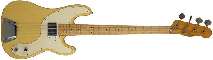 1972 Fender Telecaster Bass #fender #telecaster