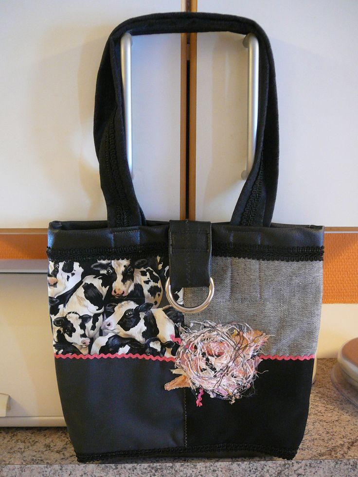 Little bag with cows