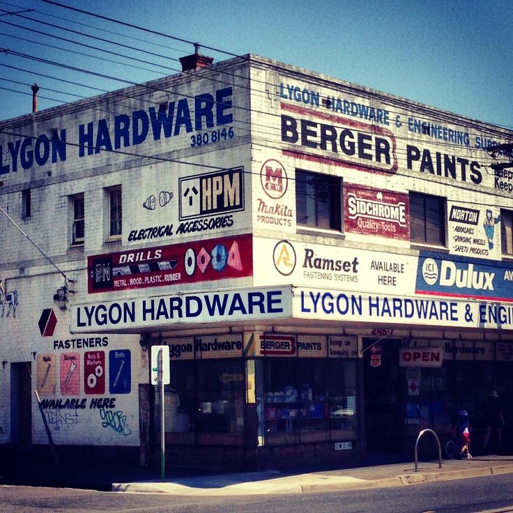 Lygon St, Brunswick Melbourne 2013