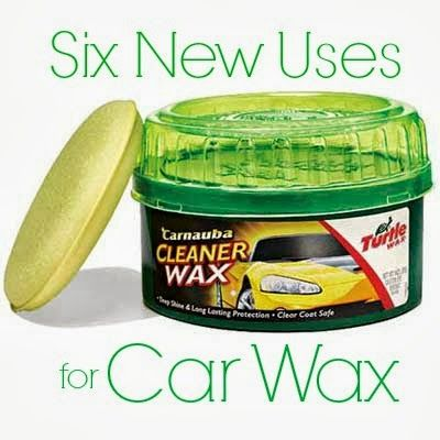 Six New Uses for Car Wax | www.inspirationformoms.com #newusesforthings #carwax