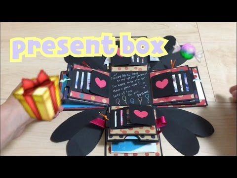 激カワ♡プレゼントボックスの作り方・仕掛けま・と・め!誕生日や記念日に♩《ミクチャLOVE2》 - YouTube