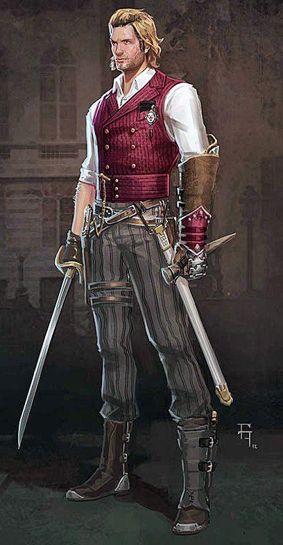 homme -épée