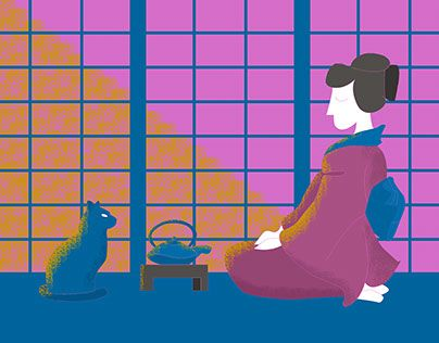 """Check out new work on my @Behance portfolio: """"Tea ceremony"""" http://be.net/gallery/58242577/Tea-ceremony"""
