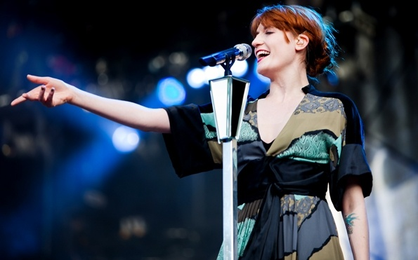 Florence And The Machine live on Gothenburg, Sweden (07/12)