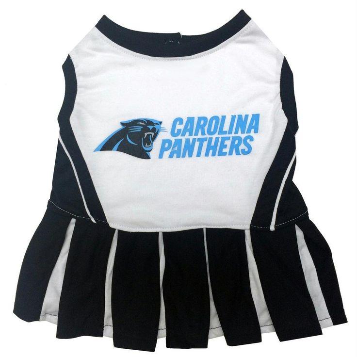 Carolina Panthers Cheerleader Pet Dress