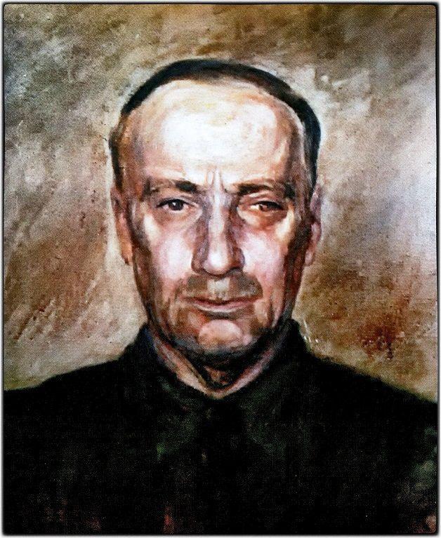 Προσωπογραφία από την κόρη του, Θεώνη Βουτυρά - Στεφανοπούλου