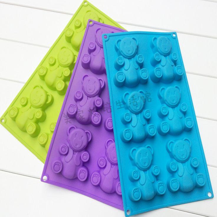 Шесть Детеныши торта силикона формы силиконовые формы для выпечки печь с шифона желе пудинг Формы для выпечки - Taobao