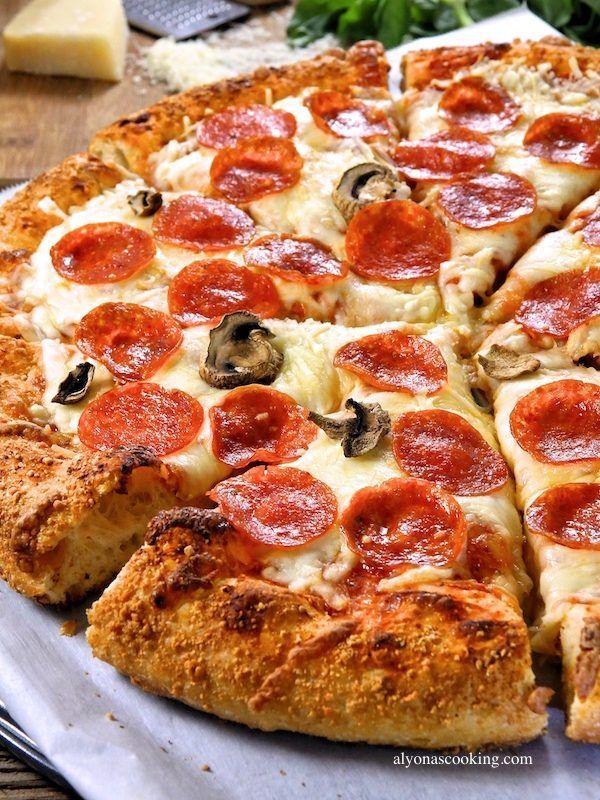 Flauschiger Und Dennoch Knuspriger Pizzateig 2020