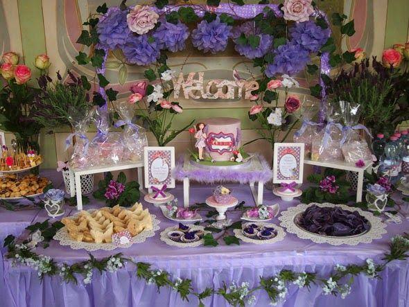 Decoración de Fiestas Infantiles de Hadas de las Flores - Flower Fairies : Fiestas Infantiles Decoracion