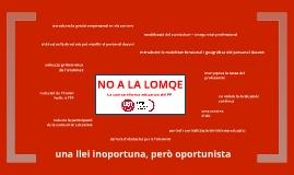 NO A LA LOMCE