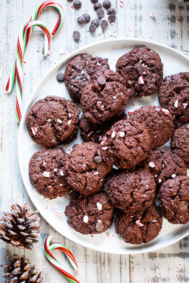 Double Chocolate Mint Cookies Paleo Vegan