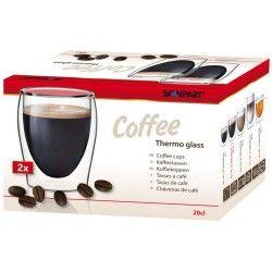 Termékleírás  Hőtartó kávés pohár Manufakturális előállítású duplafalú üveg pohár trendi dizájnnal A dupla burkolatnak köszönhetően a meleg, illetve a hideg italok hosszabb ideig megtartják eredeti hőmérsékletüket