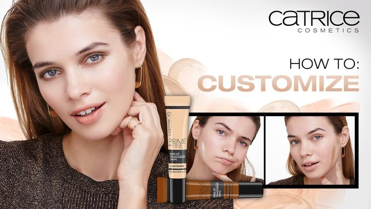 How To: Customize – CATRICE Make up Tutorial