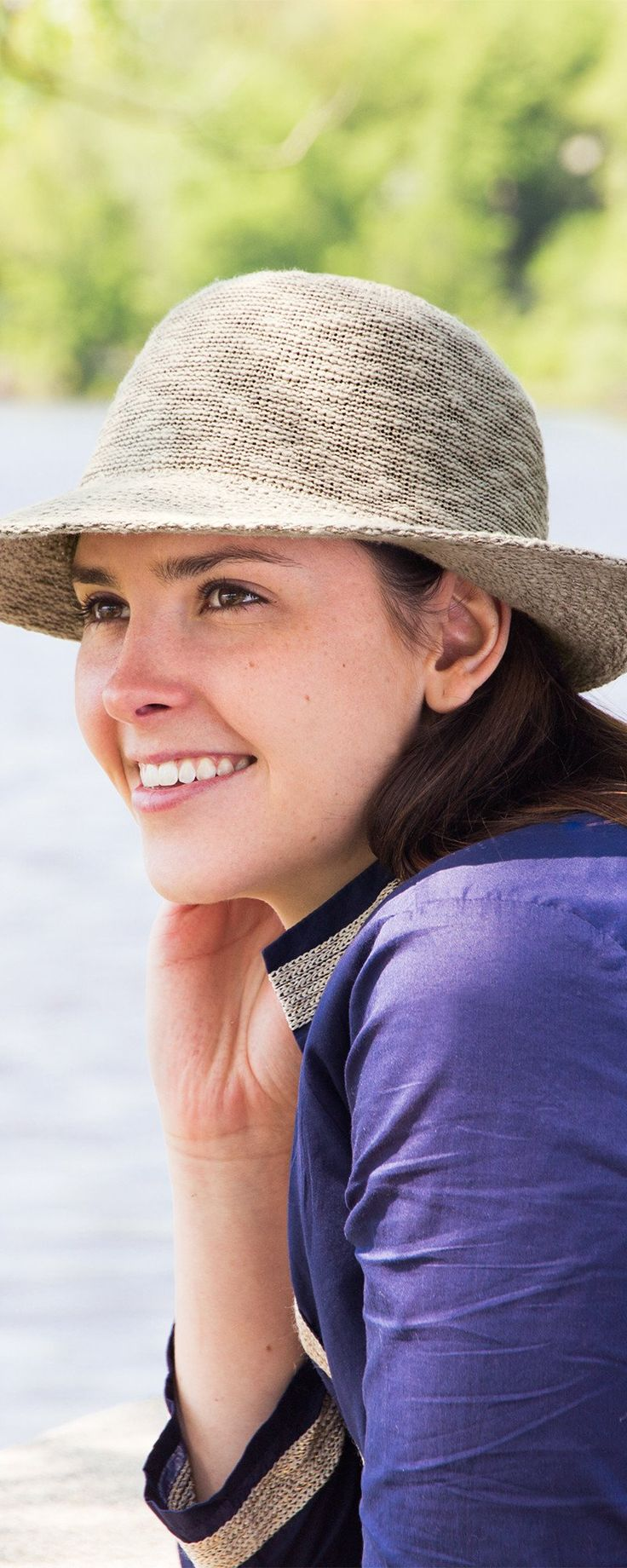 Sun-fighting hats that protect you two ways and bounce back from being packed in a purse or suitcase. UPF 50+ coated fibers reflect rays and keep you cool.