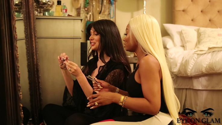 Eye on Glam: Lashes with Blac Chyna