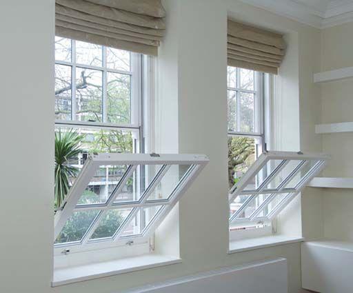 Tilt Amp Slide Timber Sash Windows In Maida Vale The