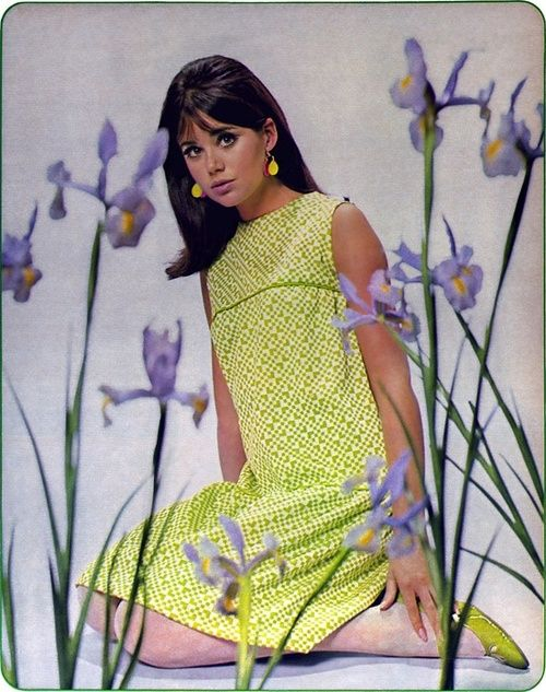 Colleen Corby in Seventeen magazine, 1967.