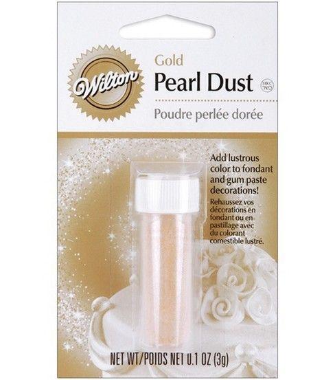 Wilton Pearl Dust - White
