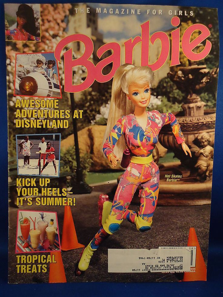 Barbie The Magazine For Girls 1995 Quot Hot Skates Quot Disneyland