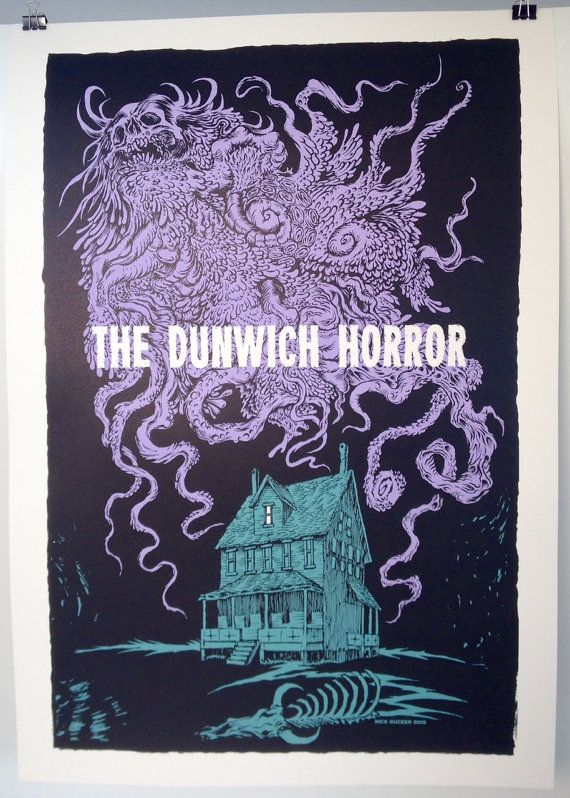 The Dunwich Horror print by NicktheHat on Etsy