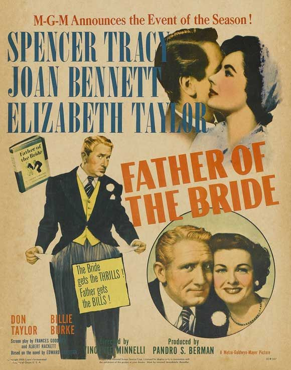 Father of the Bride with Elizabeth Taylor and Spencer Tracey