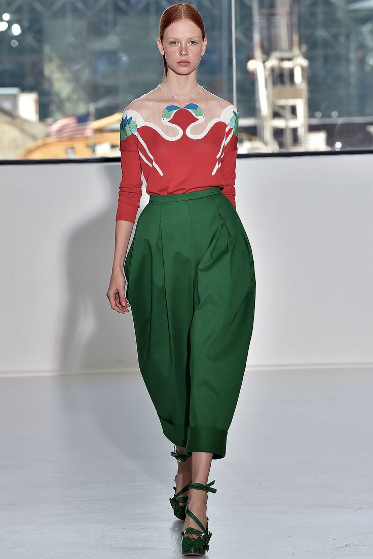 Delpozo Spring 2015 Ready-to-Wear - Collection - Gallery - Style.com - pants