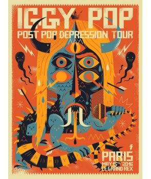Iggy Pop Post Pop Depression par NIARK1